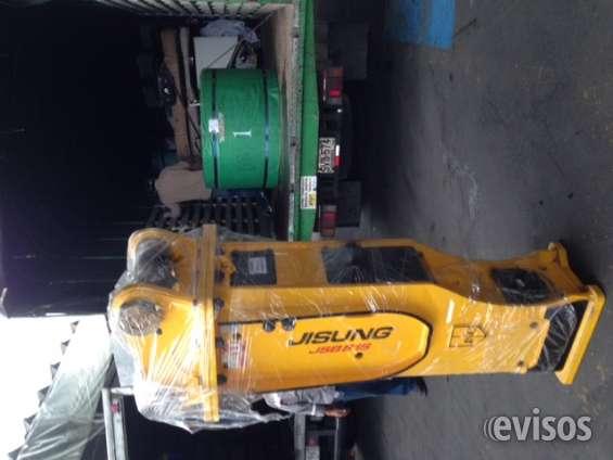 Martillo hidraulico excavadora 20ton (tipo cat320) - jinsung 81s koreano - kit accesorios