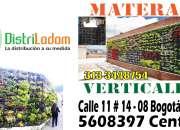 Decoracion instalacion materas verticales bogota y colombia