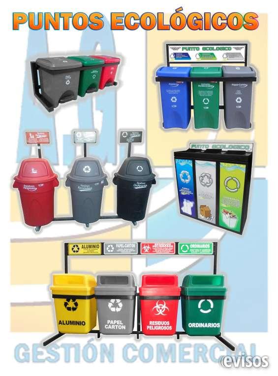 Punto ecológico,canecas para reciclaje, separación de basuras bogotá