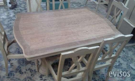 Vendo lote de muebles sin pintar en madera