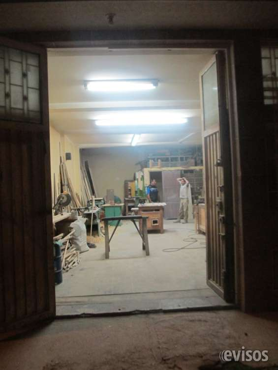 Venta de taller de carpinteria