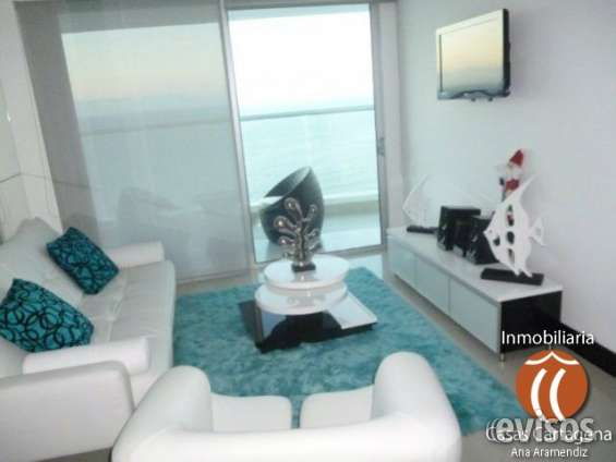 Apartamento amoblado con vista al mar en cartagena