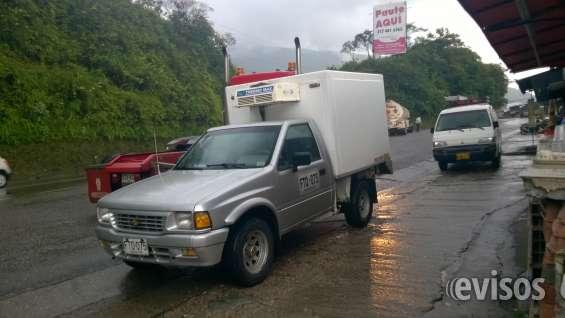 Camioneta con furgon y termo chevrolet luv tfr motor 2300 modelo 1996
