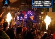 Nuevo robots led - reggaeton - hora loca led - stiven lopez colombia