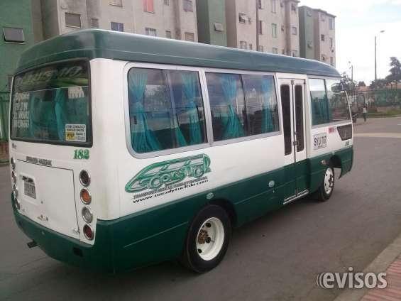 Permuto micro bus de 19 pasajeros transporte escolar turismo y empresarial marca jac model