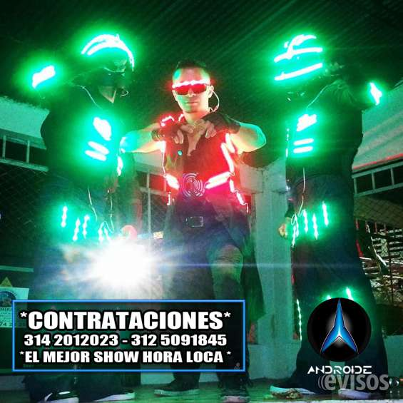 Reggaeton bogota hora loca robots led fiestas y eventos zumba