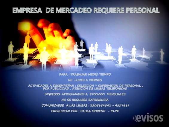 Correo de contacto : paulamoreno5178@gmail.com
