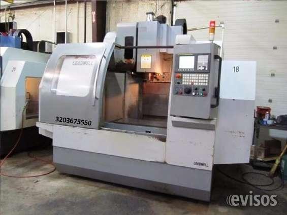 Fotos de Centro de mecanizado vertical cnc leadwell v40 2