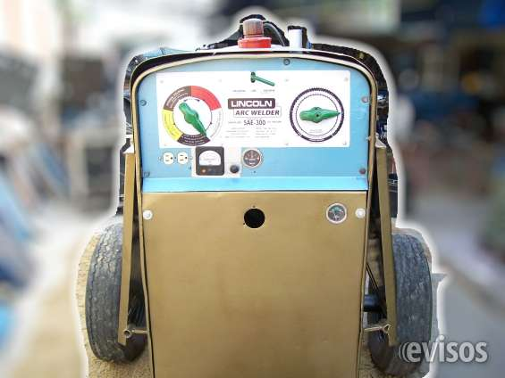 Motosoldador diesel lincoln sae 350 estado 10/10