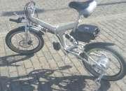 Bicicleta Electrica Plegable E-legtric. Gratis Casco Nutcase