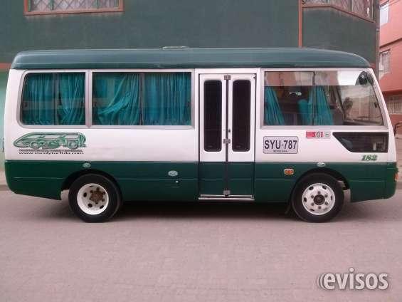 Venpermuto micro bus de 19 pasajeros transporte escolar turismo y empresarial marca jac mo