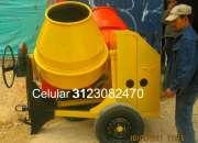 Mezcladora para concreto motor gasolina