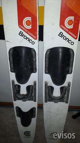 Vendo a 200 mil pesos un par de skis americanos!