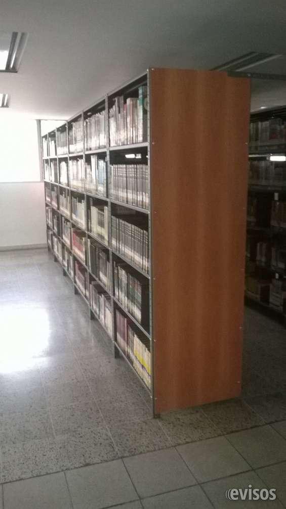 Estantería metálica para bibliotecas
