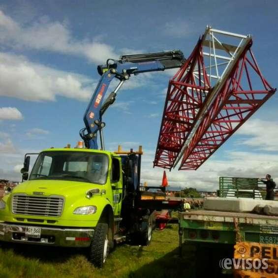 Alquiler de grúas camiones 4x4 todo terreno