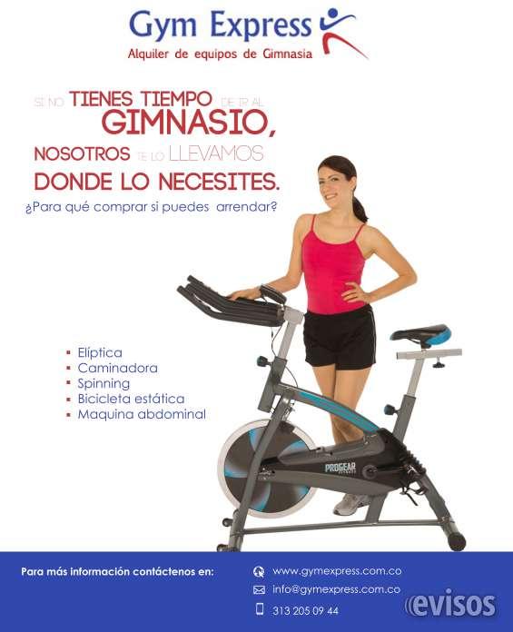 Alquiler de maquinas gym express