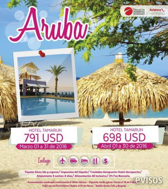 Espectacular plan a aruba