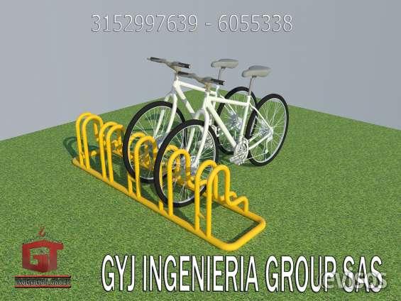 Bicicleteros publicos, bicicleteros para empresas, fabrica de cicloparqueaderos