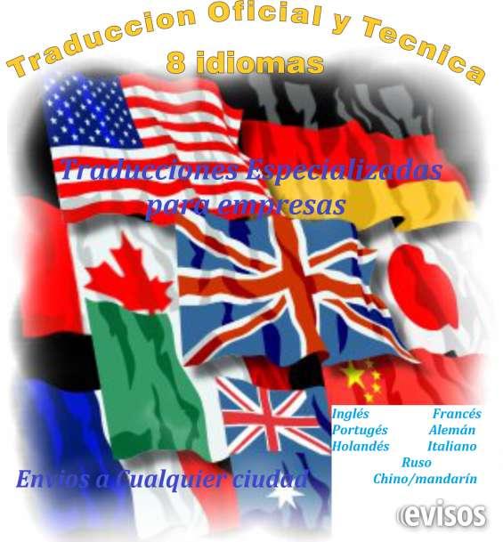 Traducciones realizadas por expertos y certificadas