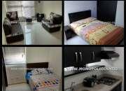 Apartamento amoblado para alquilar en medellin cod 3949