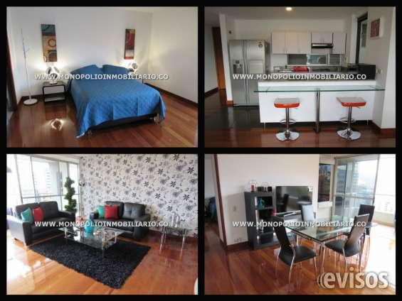 Apartamento amoblado para la renta en medellin el poblado cd 3982