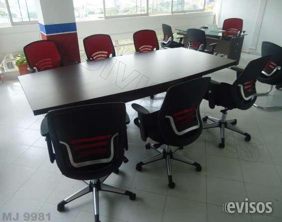 Mesas de juntas, archivadores, escritorios muebles para oficina fabrica