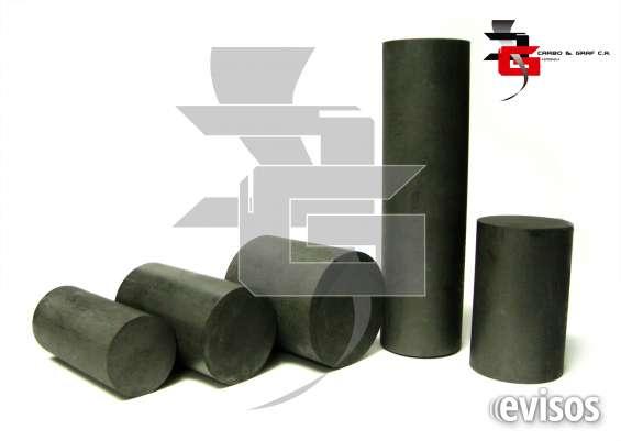 Barras, placas y tubos de grafito