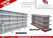 Venta de gondola gondolas para supermercado,puntos de pago colombia,estanterias estanteria