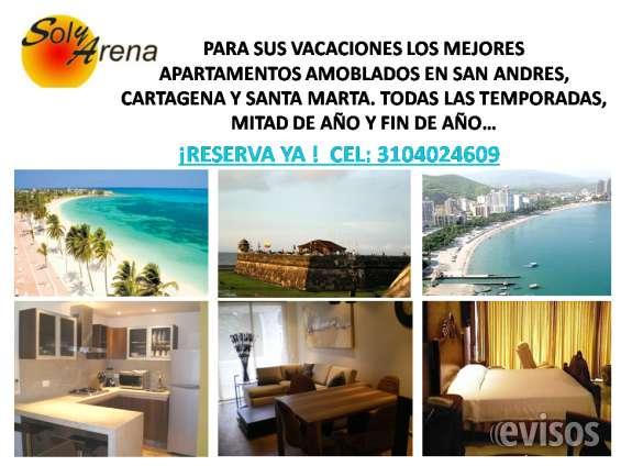 Las mejores ciudades del caribe colombiano, nuestros apartamentos amoblados harán de tu estadía, días maravillosos !!!