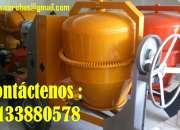 Mezcladoras para concreto diésel a gasolina y eléctricas