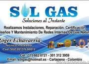 TECNICO GAS NATURAL DOMICILIARIO Y COMERCIAL