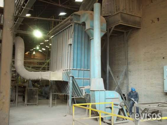 Filtro de mangas de 200 mangas de 12 cm de diametro por 2.5 metros.