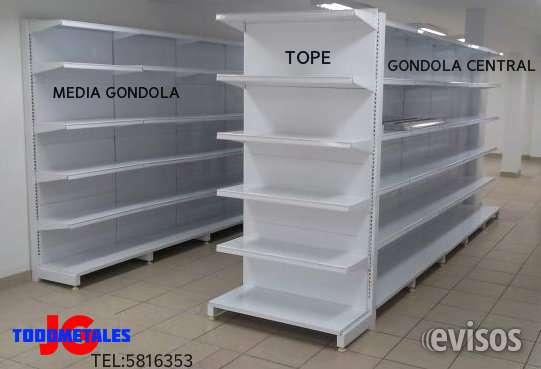 Estanterías y góndolas para supermercado