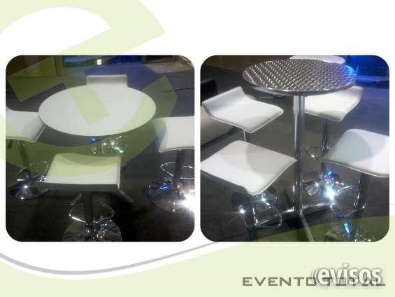 Mesas y sillas bar