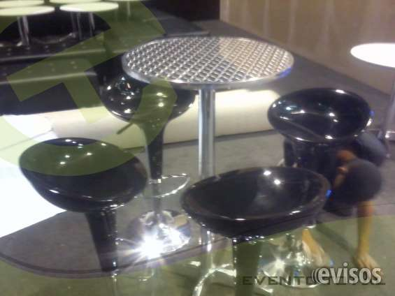 Alquiler sillas y mesas bar