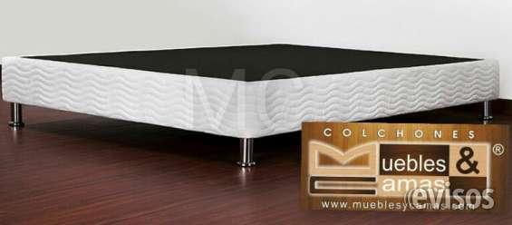 Base cama, somier doble $140.000