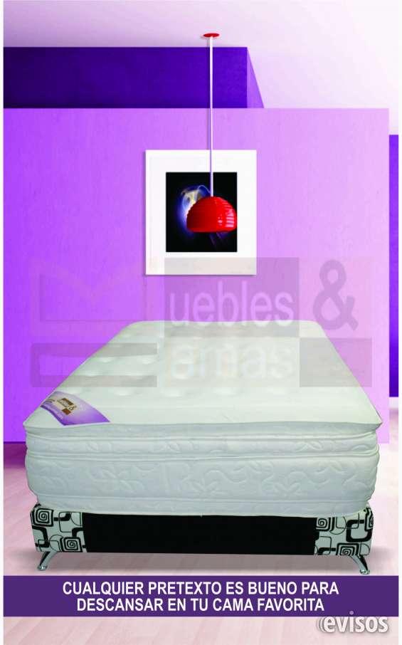 Colchón con base cama sencilla en promoción $379.900