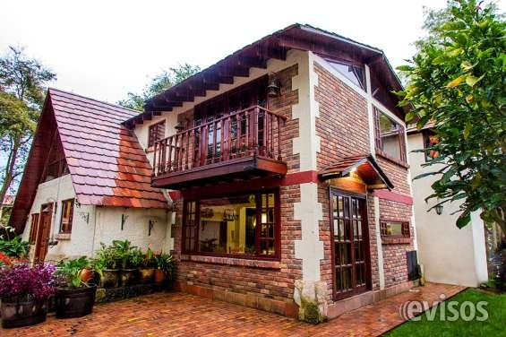 Espectacular casa campestre en cota - chía