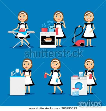 Ofrezcome para servicios domesticos y cuidado de niños