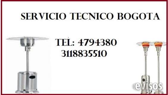Reparación de calefactores de ambiente. tel 4794380