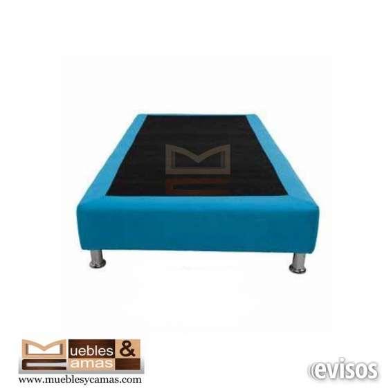 Oferta única! base cama sencilla por $129.900