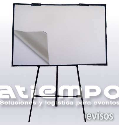 Alquiler de papelógrafos para capacitaciones