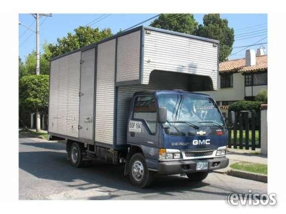 Empresa de mudanzas, trasteos, acarreos en bogotá 4817203. (