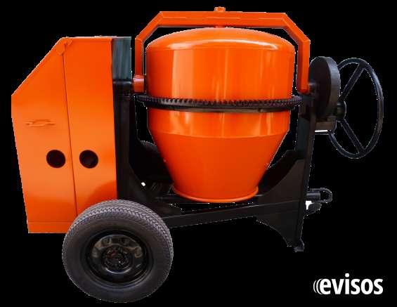 Mezcladora concreto diesel 10 hp
