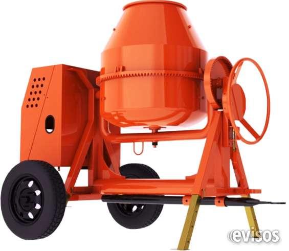 Mezcladora concreto electrico trifasico 5hp 2 bultos
