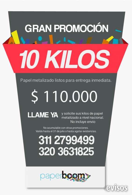 Paper boom. kilos y kilos de papel picado