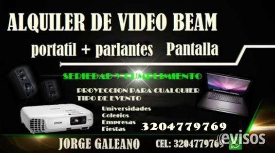 Alquiler de video beam neiva , el mejor precio