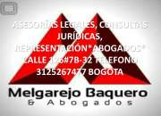 Abogados: Defensas demandas jurídicas especializadas