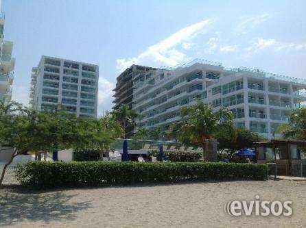 Apartamento frente al mar en bello horizonte- 2 hab