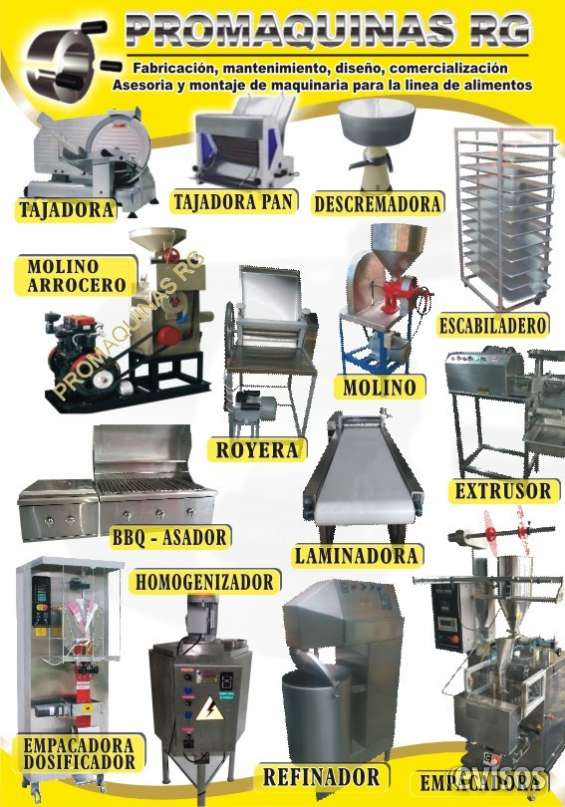 Desplumadora, centrifuga, estufas industriales,    peladora de papa
